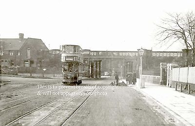 Photo Of Tram On Lordship Lane Between East Dulwich & Crystal Palace
