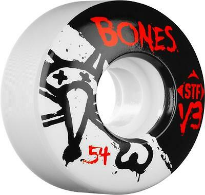 Bones Stf Slim V3 Series (54Mm) Skateboard Wheels (Set Of 4)
