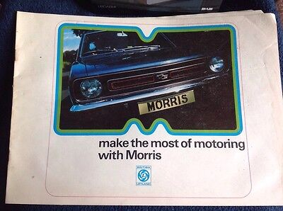 Make The Most Of Motoring With Morris Mini And marina Brochure