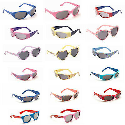Cute Baby Boy Girl Toddler Infant Soft Plastic UV400 Sunglasses - 0 to 3 Years
