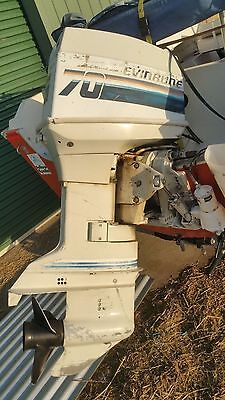 Evinrude 70hp Outboard Boat Motor