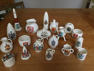 Collection Of Goss Crested China