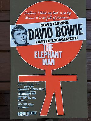 David Bowie In The Elephant Man Vintage 1980 Original