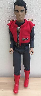 """CAPTAIN SCARLET TALKING ACTION FIGURE 12"""" Tall Soundtech Gerry Anderson"""