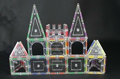 Rainbow Mags 40 Piece Magnetic Tiles Blocks THE IGLOO SET Kids Building Toys NEW