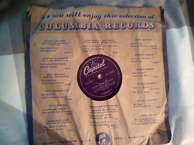 """""""TENNESSEE"""" ERNIE FORD-River Of No Return c/w Give Me Your World 78rpm  1954"""