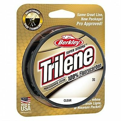 Berkley Trilene 100% Fluorocarbon - 200YDS - All Sizes - CLOSING DOWN SALE!