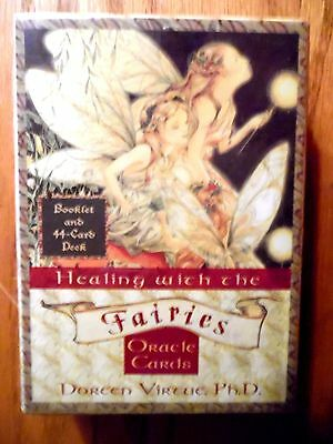 """""""fairies Oracle Cards"""" Doreen Virtue  44 Card Boxed Seat & Guidebook"""