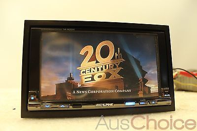 "Alpine IVA-W202E 6.5"" Double DIN Touch Monitor DVD LCD MP3 CD Player Receiver"
