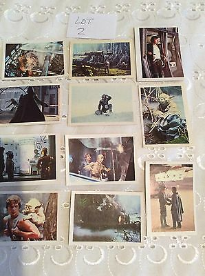 star wars vintage Empire Strikes Back stickers by FKS lot 2