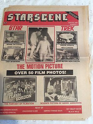 star trek the motion picture vintage Starscene paper #1 from 1980