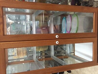 Double Pastry Cabinet