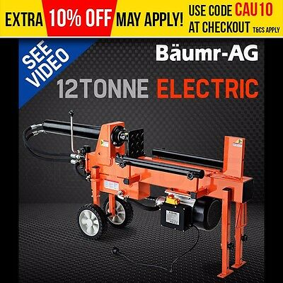 Mouse over image to zoom NEW-BAUMR-AG-Hydraulic-Electric-Log-Splitter-Wood-Fire