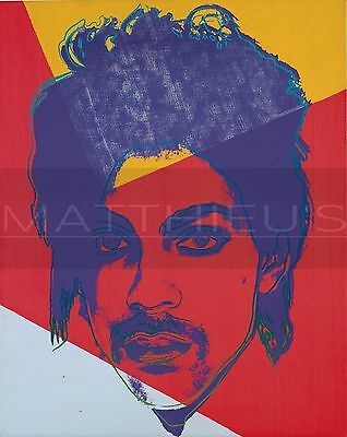 Andy Warhol-Prince, Canvas/Paper Print, Pop Art