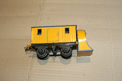 Hornby O Snowplough in Yellow