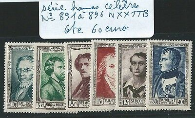 Lot Timbres France Cote 60 Euro Tres Bon Lot Voir Photo