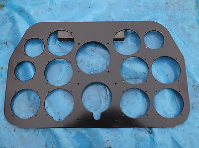 ww2 raf replica p51 mustang instrument panel m,ade in 3 mm alloy