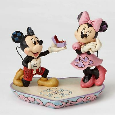 "ENESCO DISNEY Skulptur ""Mickey & Minnie - A Magical Moment"" Jim Shore N° 4055436"