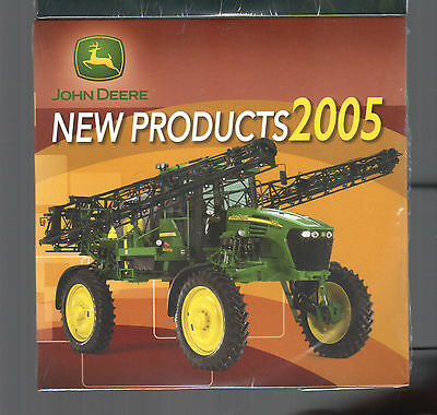 2005 John Deere Tractor New Products Cd Dvd