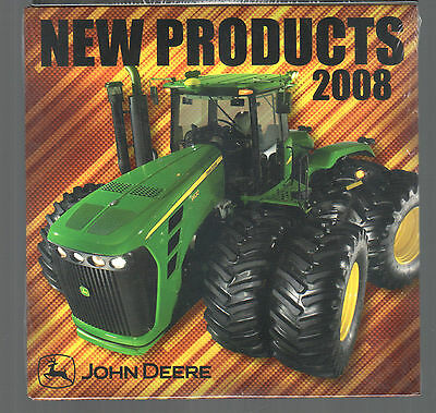 2008 John Deere Tractor New Products Cd Dvd