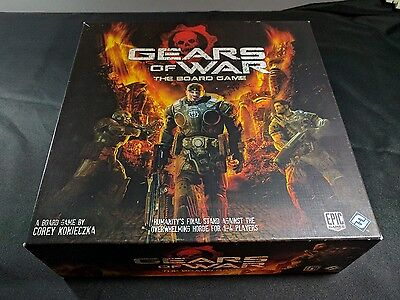 Gears Of War Boardgame Plus Mission Pack 1 Add On FFG