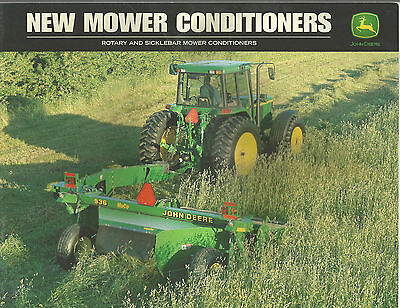2000 John Deere Tractor Rotary And Sicklebar Mower Conditioners Sales Brochure