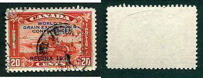 Used Canada 20 Cent Grain Exhibition Stamp #203 (Lot #8440)