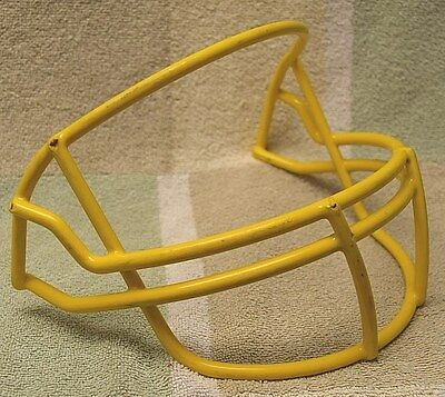 Vintage Riddell Football Helmet Facemask - OPO - YELLOW