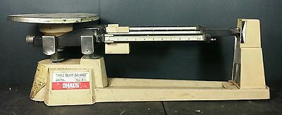 Ohaus Triple Beam Balance Mechanical Scale 700 800 Series 2610 grams 5lbs 2oz