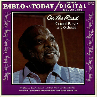 Count Basie On The Road USA vinyl LP album record 2312112 PABLO TODAY 1980