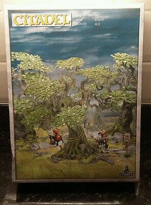 Citadel Wood Scenery - Warhammer Lord Of The Rings Games Workshop - New Sealed