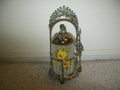 Pickle Caster with Fenton Insert - OOAK