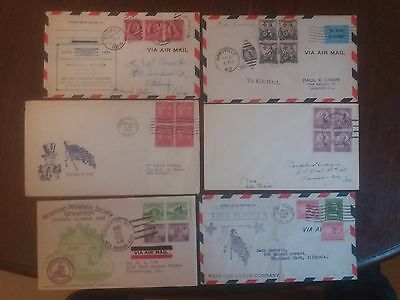 USA Early 1930s FDC collection