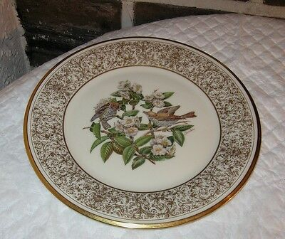 "Collector plate Boehm Birds first of series ""Wood Thrush""  1970 Beautiful"