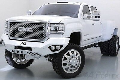 2016 GMC Sierra 3500  16 GMC Sierra 3500HD Denali SEMA Kelderman Lift Kit 24in American Force Wheels