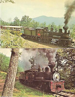 Vintage TOMBSTONE GHOST TOWN, DRY GULCH RAILROAD near WYTHEVILLE, VA. Lot of 2