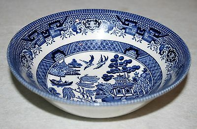 Churchill Blue Willow Coup Cereal Bowl MULTIPLES AVAILABLE