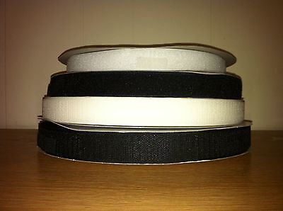 Hook and Loop velcro tape Sew On 20mm 25mm 50mm