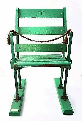 Comiskey Park Stadium Seat Antique White Sox Baseball Authentic Chair Mounted