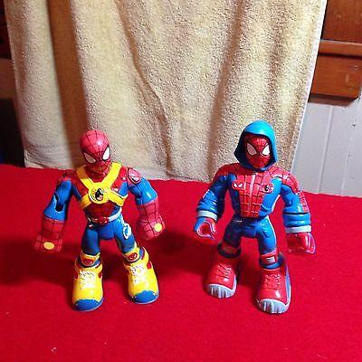 "Marvel Spiderman 6"" Action Figure Rescue Heroes 2003 Toy Biz"