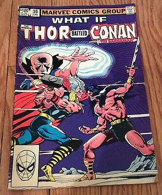 The Mighty Thor battled Conan the Barbarian # 39