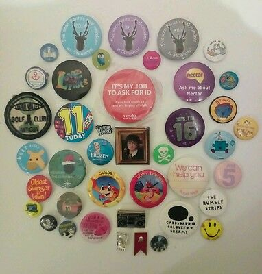 Large Collection of Badges.