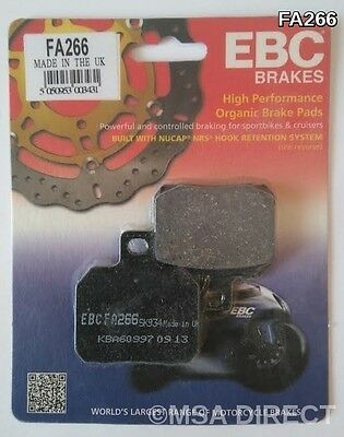 Ducati Monster 696 (2008 to 2014) EBC Kevlar REAR Brake Pads (FA266) (1 Set)