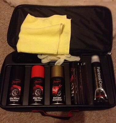 Supagard Car Cleaning Kit - In Black Carry Bag