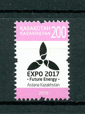 Kazakhstan 2016 MNH EXPO 2017 Future Energy Definitive 1v Set Environment Stamps