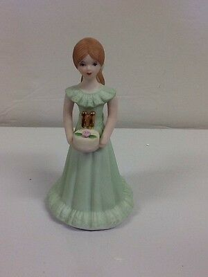 Vintage Enesco Growing Up Girl # 11 Brunette