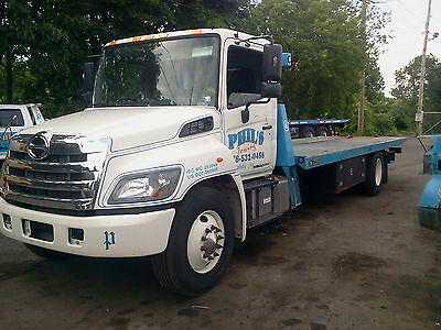 2015 Hino 338 NRC Carrier, rollback, tow truck