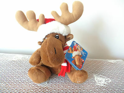 Sears Charity Plush Beanie Toy -  2005 KrisMoose The Moose w/Tag