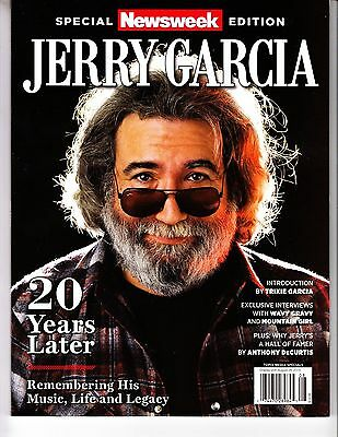Jerry Garcia 20 years later NEWSWEEK Magazine 2015 special edition Grateful Dead