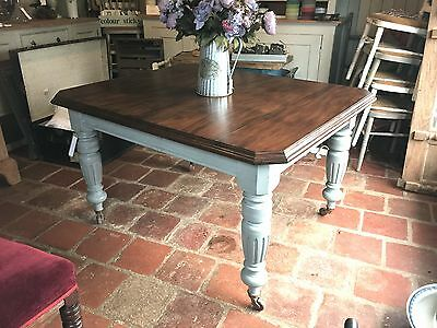 EDWARDIAN WIND OUT DINING TABLE * Beautiful piece *